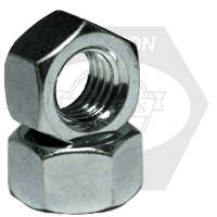 Hex Nuts Zinc Plated