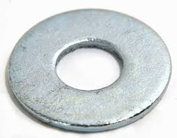 """3//8/"""" USS Flat Washers Zinc Plated  Low Carbon Qty 1000"""