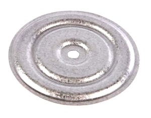 STEEL ROUND INSULATION PLATES GALVANIZED