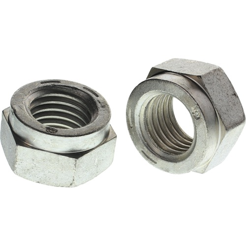 Full Collar Lock Nut Grade C Cad Plating R H Fasteners