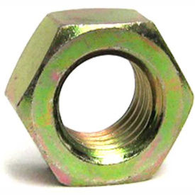 Hex Nuts Grade 8 Hardened Steel Yellow Zinc Plated